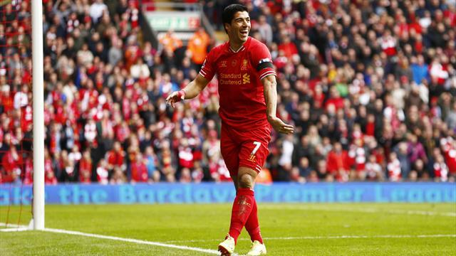 Premier League - Suarez happy at Liverpool despite Real Madrid interest
