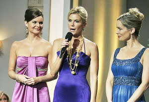 Heather Tom, Katherine Kelly Lang and Jennifer Gareis | Photo Credits: Cliff Lipson/CBS