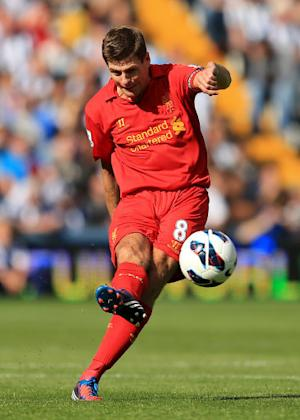 Steven Gerrard says it is too early for Liverpool to panic