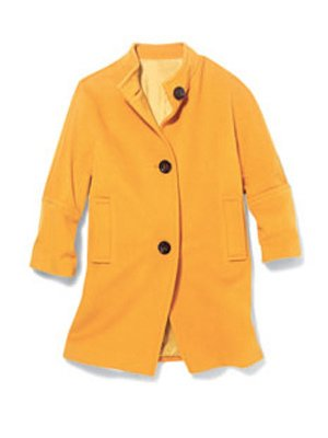 Talbots Plush Twill Coat