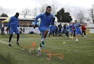 Britain Football Soccer - Sutton United Media Day - FA Cup Fifth Round Preview - The Borough Sports Ground - 16/2/17 Sutton United's Craig Eastmond during training Action Images via Reuters / Matthew Childs Livepic
