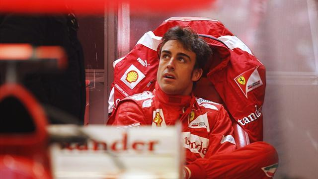 Formula 1 - Alonso happy with Ferrari but Lotus a concern