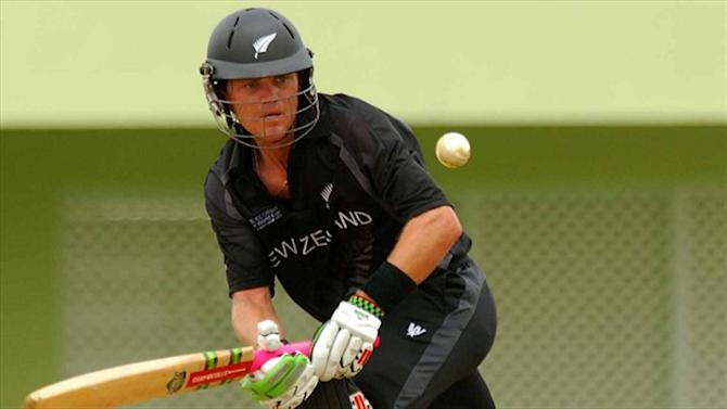 Cricket - Former NZ batsman Vincent admits match-fixing