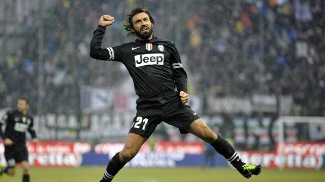 Serie A - Pirlo wants wants to end career at Juve