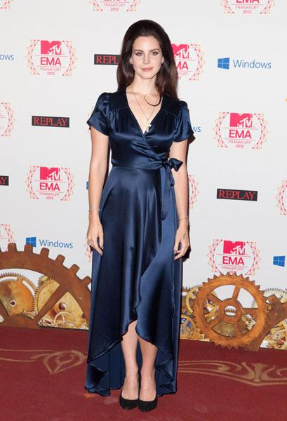 Best dressed: Lana Del Rey