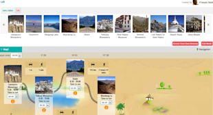 Pune Based Social Travel Network JoGuru Is Making Itinerary Planning Easy And Exciting image JoGuru Travel itinerary  1024x556
