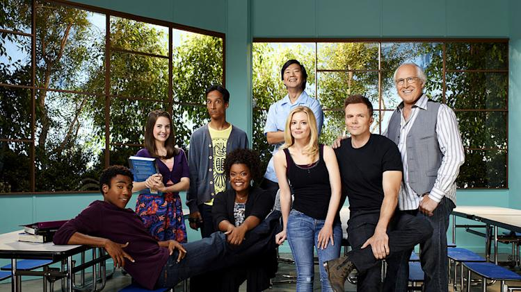 "The cast of ""Community."""