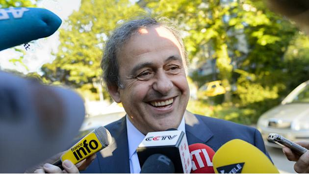 Platini optimistic as CAS hearing begins