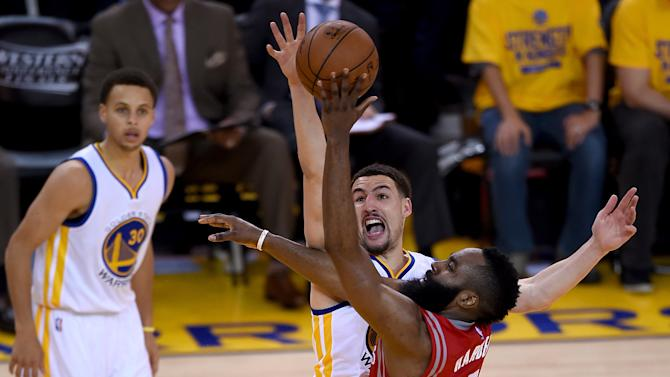 VIDEO. NBA: Golden State et Stephen Curry font le break contre Houston