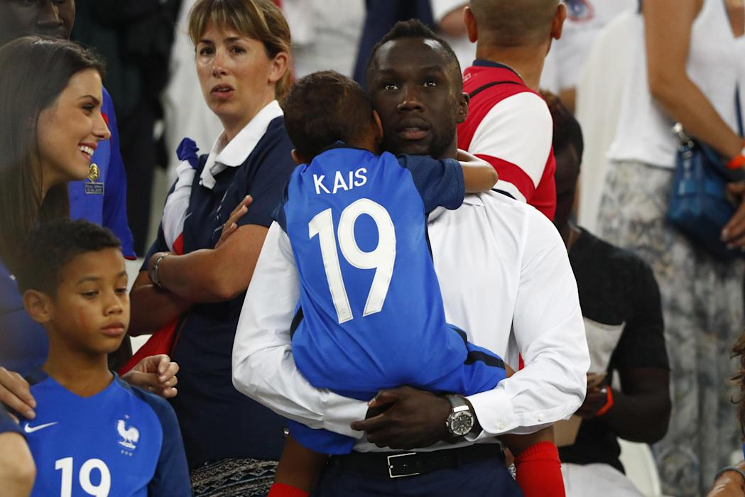 France's Bacary Sagna after the match
