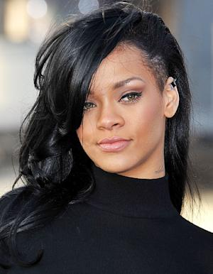 Rihanna Dyes Her Hair Black, Shaves Off One Side