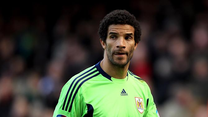 David James was freed by Bristol City at the end of last season
