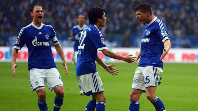 Bundesliga - Schalke win Ruhr derby, dramatic victory for Bayern