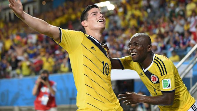 World Cup - Colombia impress again as they eliminate Japan