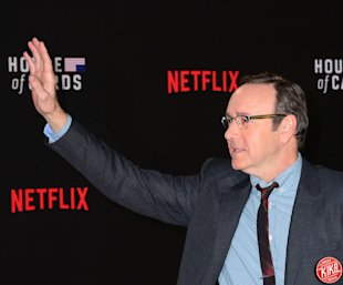 Kevin Spacey, protagonista dell'acclamato 'House of Cards'