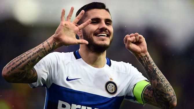 Icardi missing due to injury - Mancini
