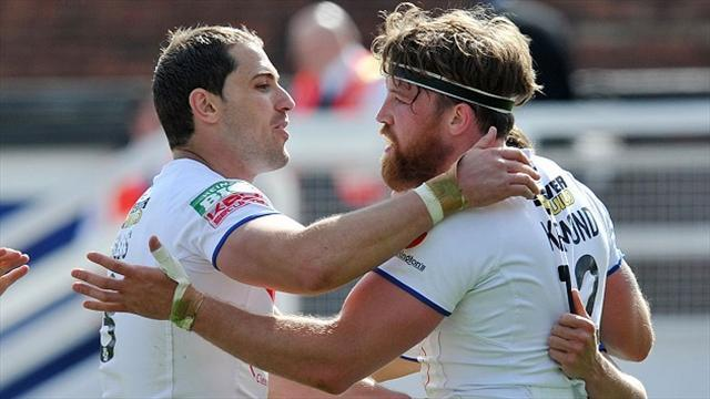 Rugby League - Kirmond commitment boosts Wakefield