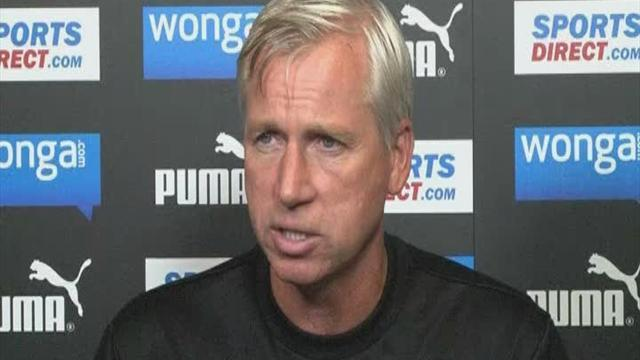 Football - Pardew happy to cope with pressure