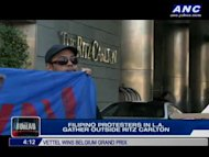 In Los Angeles, Filipinos took their protests to the doorsteps of Jeane Napoles -- daughter of Janet Lim Napoles. Our North America Bureau correspondent Steve Angeles gives us details. For more news, click here.