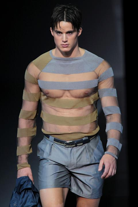 Emporio Armani - Milan Fashion Week Menswear Spring/Summer 2013
