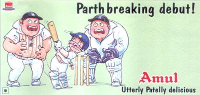 On 17-year-old Parthiv Patel shining on his Test debut in England (2002)