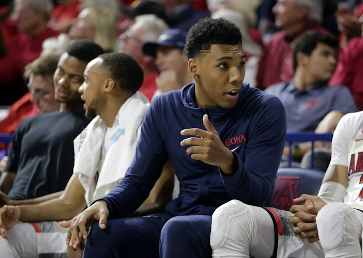 Allonzo Trier was reinstated Friday night in time for Saturday's game at UCLA (AP)
