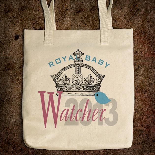 Royal Baby Watcher tote bag