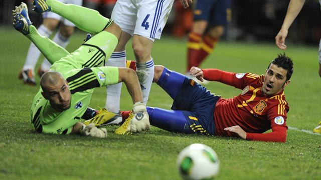 World Cup - Finland grab shock draw in Spain