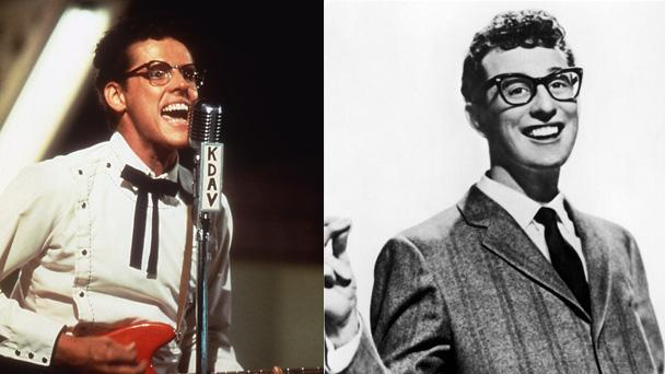 Gary Busey as Buddy Holly
