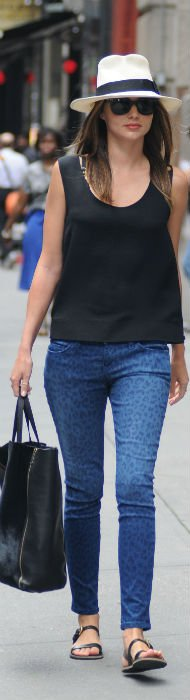 Miranda Kerr's Effortless Street Style