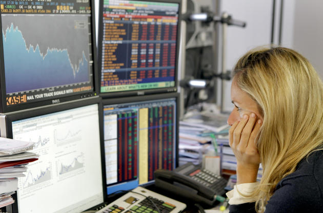 The best and worst shares of 2012 (Image: AP Photo/Jacques Brinon)