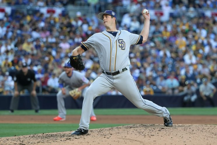 Red Sox acquire All-Star lefty Pomeranz from Padres