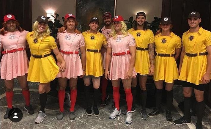 ... dress up in 'A League of Their Own' uniforms - Yahoo Sports Canada