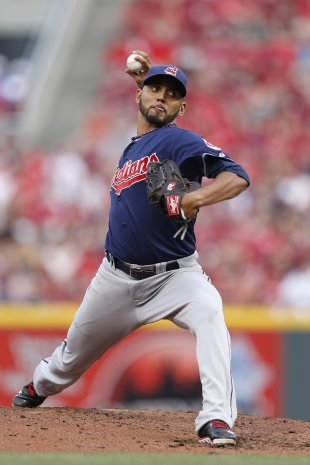 Danny Salazar's '13 season didn't burn as bright as many thought it would.. (Getty)