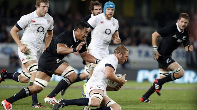 Rugby - New Zealand sneak to win over England in first Test