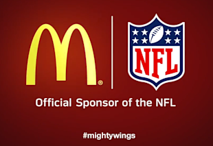 How The NFL And NBA Send Conflicting Marketing Messages To Kids image McDonaldsOfficialSponsoroftheNFL