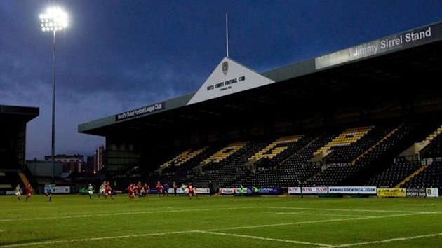Notts County's Meadow Lane stadium