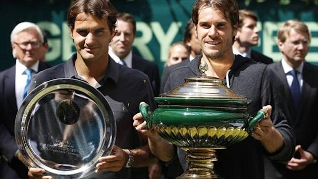 Tommy Haas won Gerry Weber Open 2012 against Roger Federer