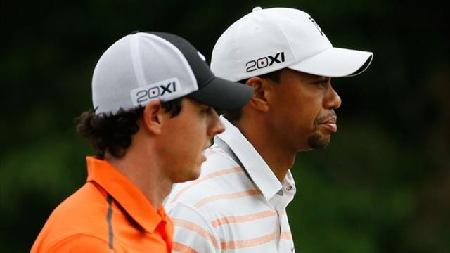 US Open - Tiger and Rory inseparable at Merion