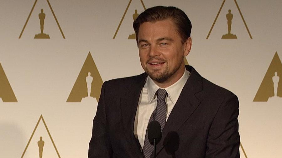 """Leo DiCaprio: The Wolf of Wall Street Is a """"Cautionary Tale"""""""