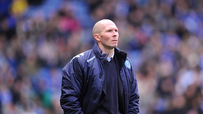 Portsmouth manager Michael Appleton hoping to be given green light to sign players