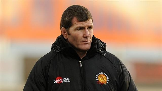 Rugby - Baxter praise for Exeter players