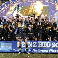 Leeds Rhinos beat Manly in the World Club Challenge last year