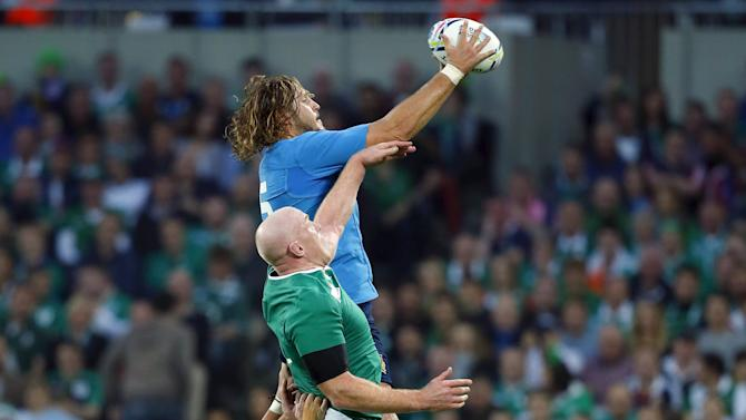 File photo - Ireland v Italy - IRB Rugby World Cup 2015 Pool D
