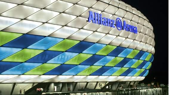 In Pictures: Allianz Arena will 'go green' for the first time ever in Champions League final