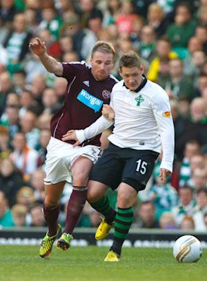 Kris Commons, right, said being involved with Scotland was the last thing on his mind
