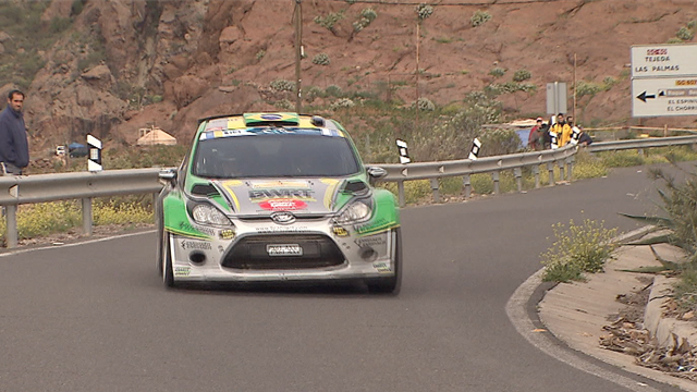 ERC CANARIAS Leg1 first loop