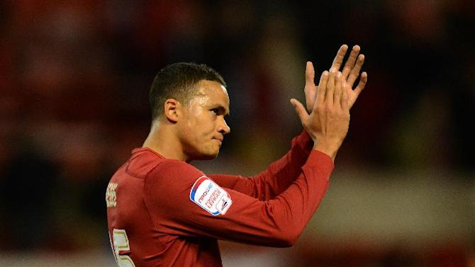 On-loan Tottenham midfielder Jermaine Jenas came off the bench for Nottingham Forest