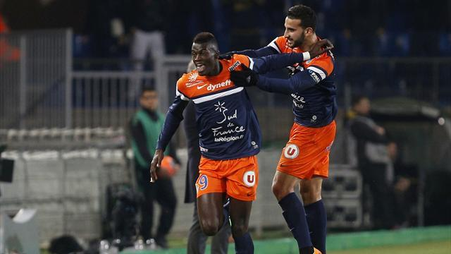 Ligue 1 - Title hopefuls Monaco held at lowly Montpellier