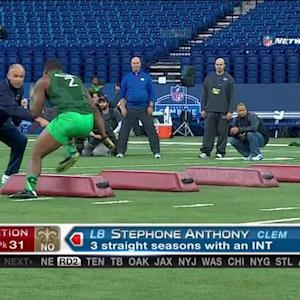New Orleans Saints pick linebacker Stephone Anthony No. 31 in 2015 NFL Draft